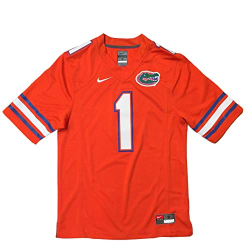 Replica Nike Jersey College - Nike Florida Gators No. 1 Stitched Limited Football Jersey UF (XX-Large)