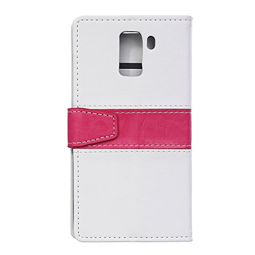 Huawei Honor 4C Caso, [estilo coreano] [Claro Sólidos] [TV Holder Diseño] [Atractivo Exterior] [gel de TPU] retrocede suave de la caja - Gris White