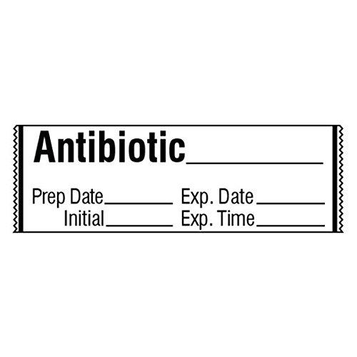 ANTIBIOTIC_ Medication Label Tape