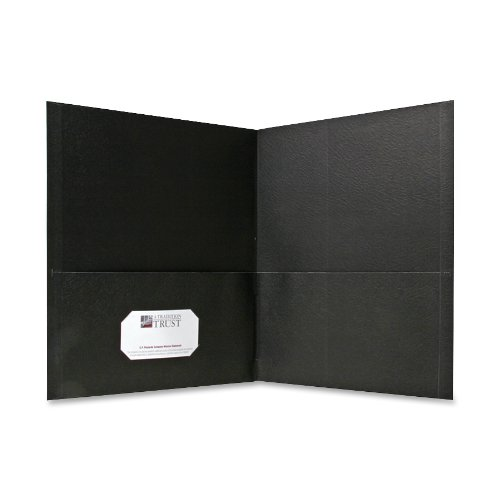 (Sparco Simulated Leather Double Pocket Folders)