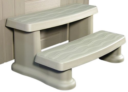 Cover Valet CV0108-Spa Side Step-Warm Grey by Cover Valet