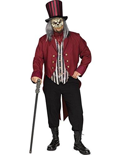 Ringmaster Costume Plus Size (Freak Show Ringmaster Adult Costume - Plus Size)