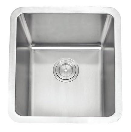 Grand Taps - Lavello da cucina in acciaio INOX spazzolato, A01-bs ...