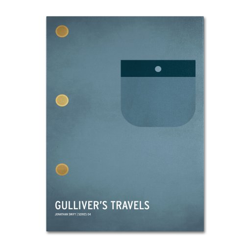 Gulliver's Travels  by Christian Jackson, 30 by 47-Inch Canvas Wall Art