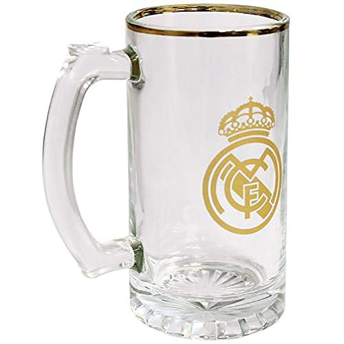 Official Licensed Real Madrid - Stein Glass Tankard by Official Licensed