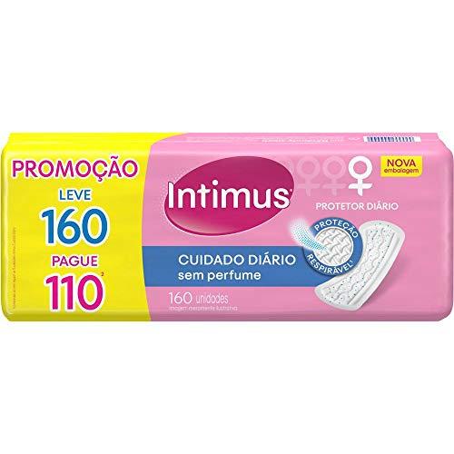 Intimus Protetor Diário Days Cuidado Diário sem Perfume, 160 unidades - Leve 160 Pague 110