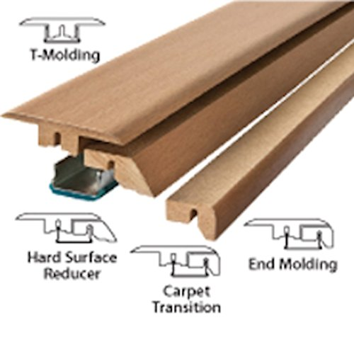 Simple Solutions 4 In 1 Transition Molding 39 38 Oak Amazon