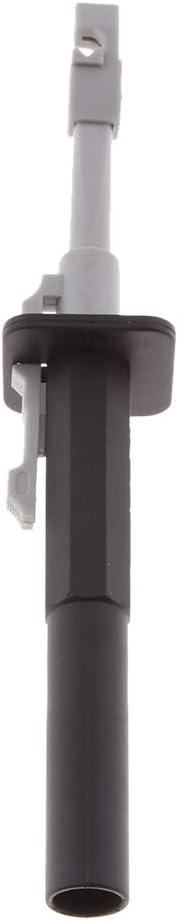 6 pezzi Clip di prova per Piercing Metallico Ottone Acciaio inossidabile Sonda Ago