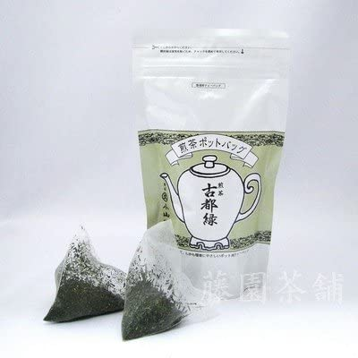 丸久小山園・煎茶・古都緑 ポット用ティーバッグSP袋 8g×10袋