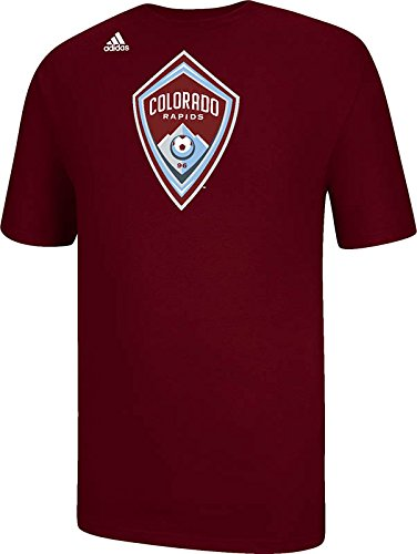 fan products of MLS Colorado Rapids Boys Logo Set Tee, 2X-Large, Maroon