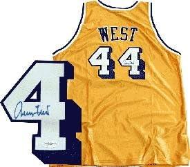 Jerry West Signed Jersey - JSA