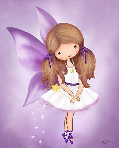 Amazon.com: Girls Fairy Room Decor Bedroom Or Nursery Angel Art ...