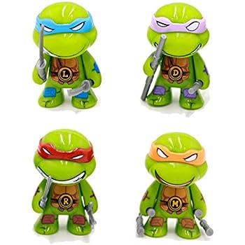 Amazon.com: BRANDSALES TMNT - Figuras de vinilo para ...
