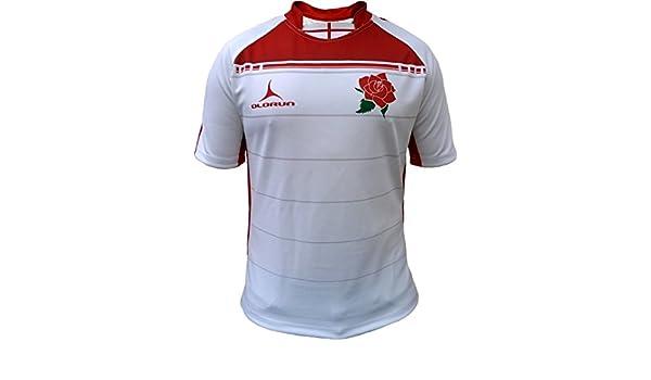 Olorun 6 Six Naciones Unidas Inglaterra Sublimada Rugby Camisa S-7 X L: Amazon.es: Deportes y aire libre