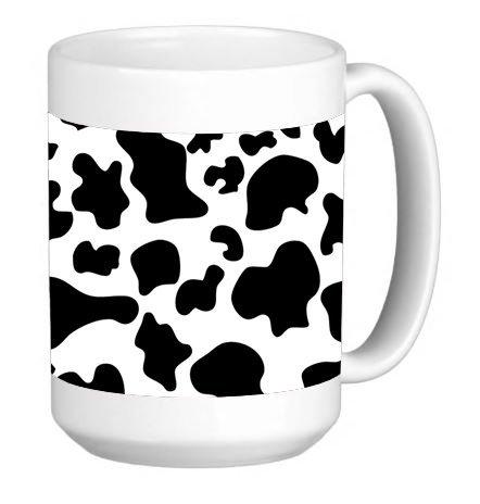 Vaca Impresión teléfono celular 15Onza Taza de café de cerámica taza de té