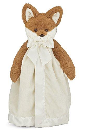 Bearington Baby Fritz Snuggler, Fox Plush Stuffed Animal Security Blanket, Lovey 15'' by Bearington Collection