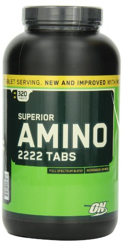 Optimum Nutrition Superior Amino Tablets