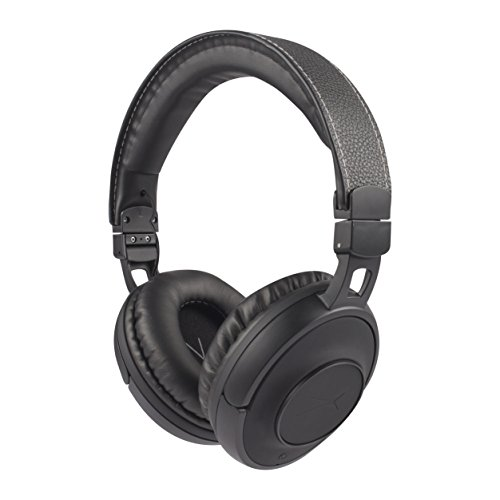 Altec Lansing NJHP-2-BLK Nick Jonas Collaboration Bluetooth Touch Headphones, Black (Altec Lansing Audio Headphone)