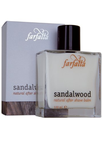 Farfalla: Men Sandalwood After Shave Balm (100 ml)