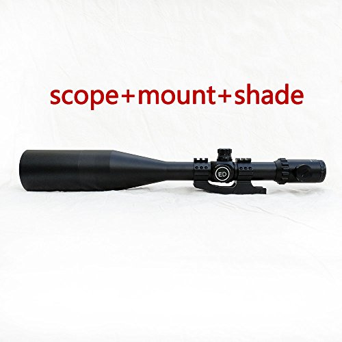 SECOZOOM 4-50x75 ED Lens 12-time Zoom FMC SF Extra-Low Dispersion Glass optically Flawless aspheric apochromatic Lenses riflescope with 35mm mounts & Sunshade