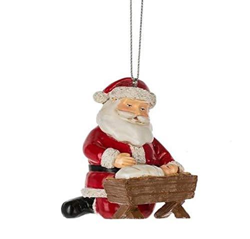 Midwest-CBK Santa Baby Jesus Christmas Tree Ornament