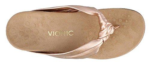 Wide Rose Vionic Toepost Rest Gold Sandal 7 Size Pippa Womens zFTwFxO7