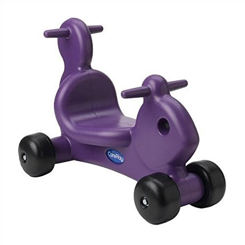 Squirrel Push/Scoot Ride-On, Kids Ride-On Toy, Purple (Scoot Squirrel)