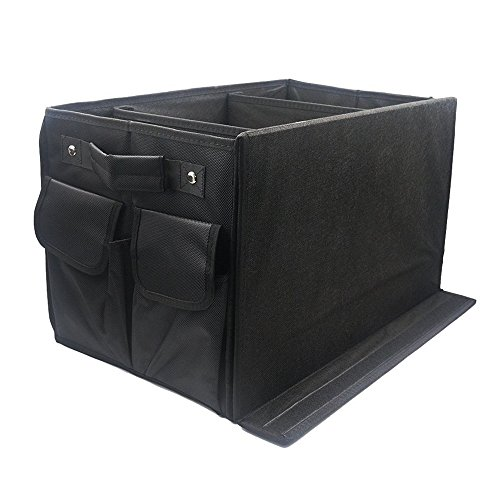Valuetom Car Trunk Organizer,Durable Space Saving and Waterproof for Tidy Organizing Storage Household Collecting and Outdoor Sporting (Box Organizer)