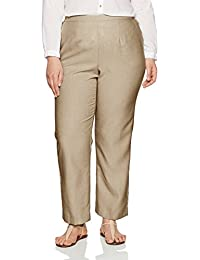 Amazon.com: Alfred Dunner - Pants & Capris / Plus-Size: Clothing ...