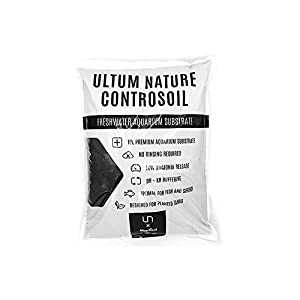 Ultum Nature Controsoil Freshwater Planted Aquarium Substrate - Normal Black 1