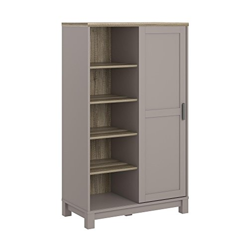 Ameriwood Home 5991096COM Carver Gentleman's Chest, Gray by Ameriwood Home