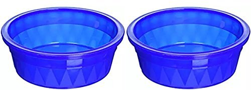 (Pureness Heavyweight Translucent Jumbo Crock Dish, 106-Ounce (2 Pack))