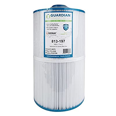 Guardian Pool Spa Filter Replaces Pleatco PCS75N, Unicel C-8475, Filbur FC-3320 Coleman, Maax Spas Filter