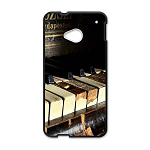 Artistic piano design fashion phone case for HTC One M7 BY RANDLE FRICK by heywan