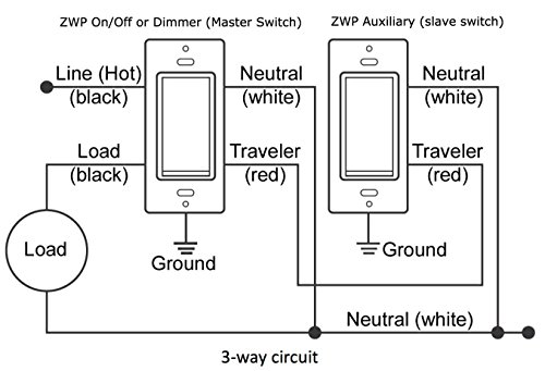 zwp z wave add on auxiliary switch for three way and four way smart