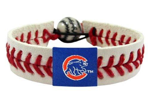 Gamewear Bracelet (GameWear 4421401287 Chicago Cubs Cubbie Bear Classic Baseball Bracelet)