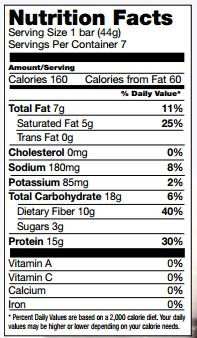 Proti Kind Very Low Carb Fluffy Vanilla Crisp Protein Bars, 7 servings, 15g Protein Per Serving