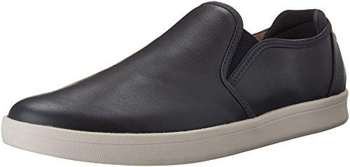 Mark Nason Men's Silwood Navy Smooth Leather/White Bottom Sneaker 12 M (Navy Smooth Leather)