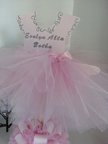 a81ee0a57 Amazon.com  Double Sided Personalized TuTu Dress Centerpiece  Handmade