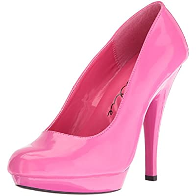 Ellie Shoes Women's 521-femme-w Dress Pump, Fuchsia, 13 D US | Pumps