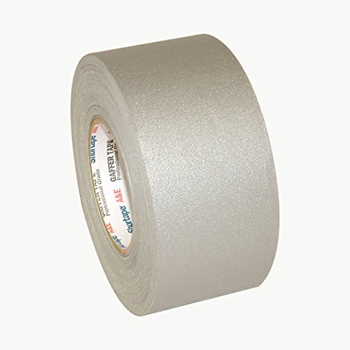Shurtape P-672 Professional Grade Gaffers Tape (Permacel): 3 in. x 50 yds. (Grey) by Shurtape