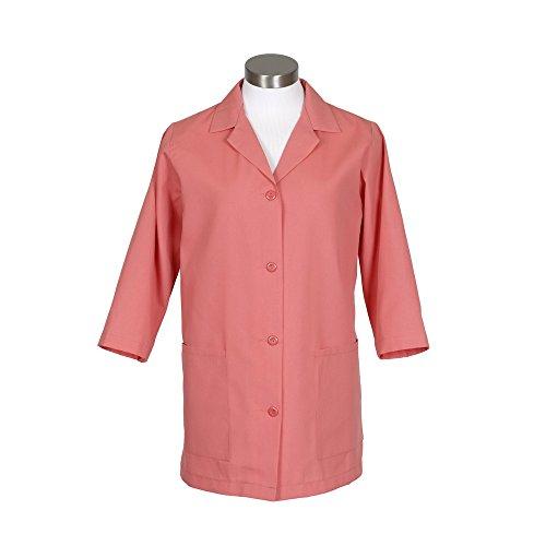 Fame Fabrics 82959 K72 Female Smock, 3/4 Length Sleeves, Salmon, SM