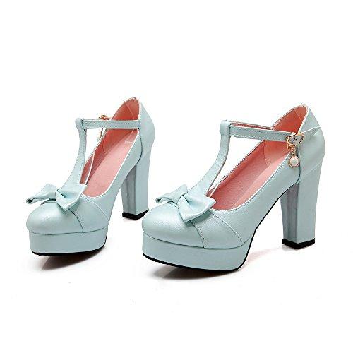 Zapatos de Vestir Azul ForeMode Para Mujer 4dwZ4Oq