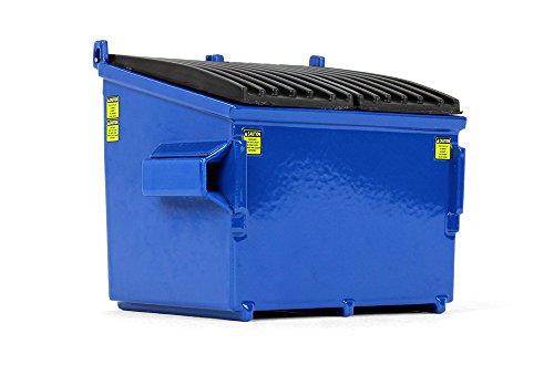 First Gear 1/34 Scale Diecast Collectible Blue Trash Bin (90-0534)