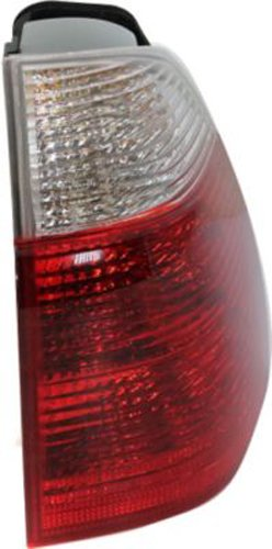 Unknown OE Replacement BMW X5 Passenger Side Taillight Assembly Partslink Number BM2801118