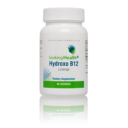 Seeking Health | Hydroxo B12 Vitamin | Vitamin B12 Supplement | B12 Hydroxocobalamin | 60 Lozenges