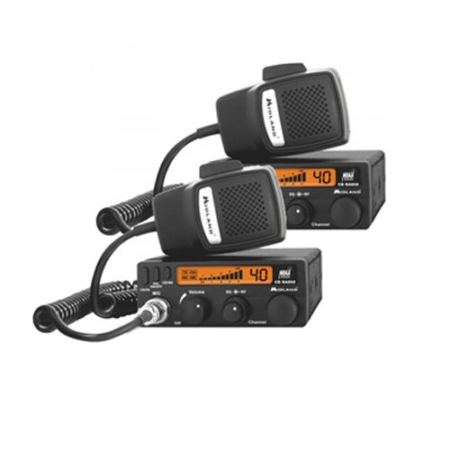 Midland 1001LWX 40 Channel Mobile CB with ANL, RF Gain, PA,