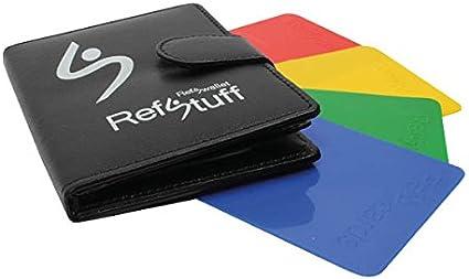 RefStuff RefSwallet Schiedsrichter//Schiedsrichter//Notizbuch//Geldb/örse