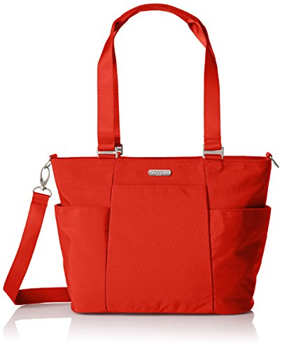 Baggallini Medium Avenue Tote, Adobe by Baggallini