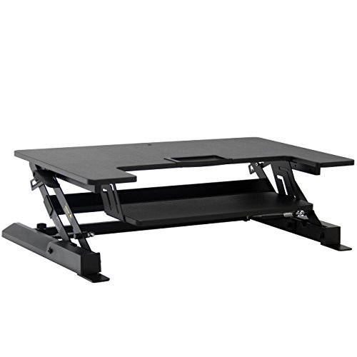 Best Choice Products Height Adjustable Standing Desk Dual